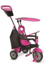 Triciclo Vanilla Plus Cor-de-Rosa SmarTrike 6654100
