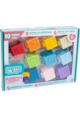 Cubitos de Colores Blanditos 10 Piezas