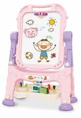Pizarra Infantil Rosa 48 Piezas