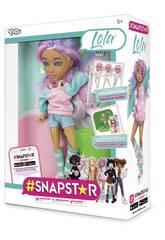 Boneca Snapstar Lola Diset 407248
