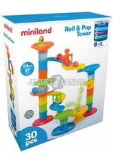 Roll And Pop Tower Miniland 97283