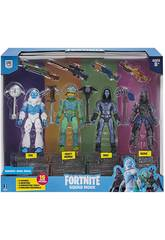 Fortnite Pack 4 Figura Squad Mode S2 Toy Partner FNT0109