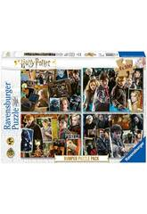 Harry Potter Puzzle 4x100 Pièces Ravensburger 6832