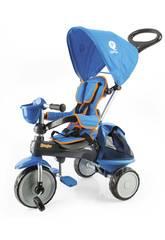 Triciclo Ranger 3 en 1 Azul con Capota QPlay T120