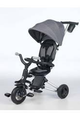 Tricycle Pliable Nova Gris Qplay T490