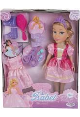 Muñeca Princesa Elsie 40 cm. con Vestido y Accesorios