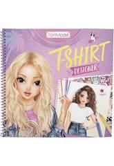 TopModel T-Shirt Designer Cuaderno para Colorear 10921