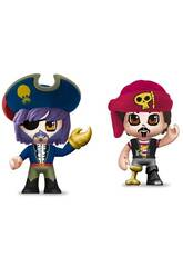 Pin y Pon Action Pack 2 Figuras Piratas Famosa 700015644