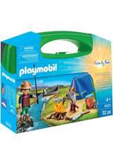 Playmobil Valigetta Grande Camping 9323