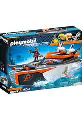 Playmobil Spyteam Turbonave 70002