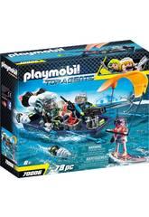 Playmobil Team S.H.A.R.K. Nave con Arpione 70006