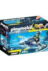 Playmobil Team S.H.A.R.K. Nave Cohete 70007