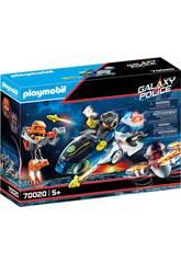 Playmobil Polícia Galactica Mota