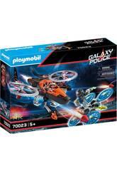 Playmobil Piratas Galacticos Helicoptero