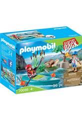 Playmobil Starter Pack Avventura in Canoa 70035