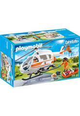 Playmobil Helicóptero de Resgate 70048