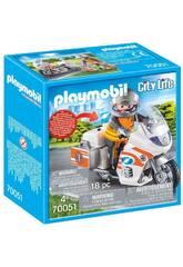 Playmobil Moto de Secours 70051