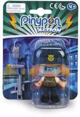Pinypon Action Policía Squad Francotirador Famosa 700015589