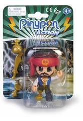 Pinypon Action Pirate avec Bandana Rouge Famosa 700015581