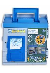 Pinypon Action Mixópolis Commissariat avec Figurine de Policier Famosa 700015585