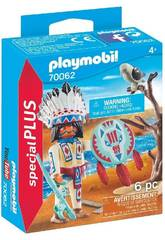 Playmobil Chef Nativo Amérindien 70062