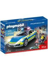Playmobil Porsche 911 Carrera 4S Policía 70066