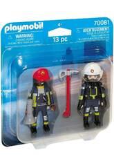 Playmobil Duopack Pompieri 70081