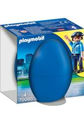 Playmobil Polícia com Cachorro 70085