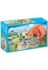 Playmobil Tienda de Campaña 70089