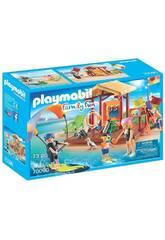 Playmobil Aula de Desportos Aquáticos 70090
