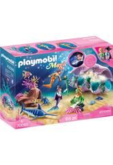 Playmobil Muschel mit Licht 70095