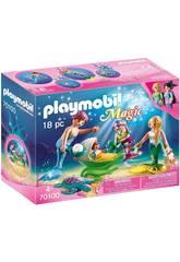 Playmobil Famiglia con Passeggino Playmobil 70100