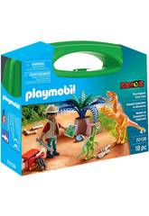 Playmobil Valigetta Dinosauro e Esploratore Playmobil 70108