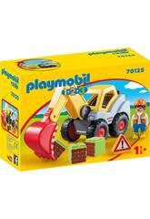 Playmobil 1,2,3 Pala Scavatrice Playmobil 70125