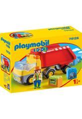 Playmobil 1,2,3 Camion Benne Playmobil 70126