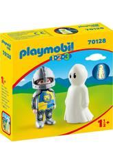 Playmobil 1,2,3 Chevalier avec Fantôme Playmobil 70128