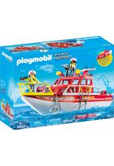 Playmobil Barco de Resgate 70147