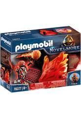Playmobil Novelmore Spirito di Fuoco Banditi Burnham Playmobil 70227
