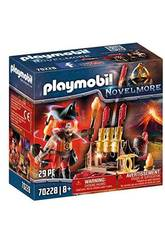 Playmobil Novelmore Mestre do Fogo Bandidos Burnham Playmobil 70228