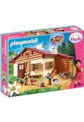 Playmobil Heidi en la Cabaña de los Alpes Playmobil 70253
