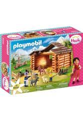 Playmobil Heidi Estábulo de cabras de Pedro Playmobil 70255