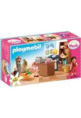 Playmobil Heidi Épicerie Famille Keller Playmobil 70257