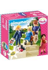 Playmobil Clara, Padre y Srta. Rottenmeier Playmobil 70258