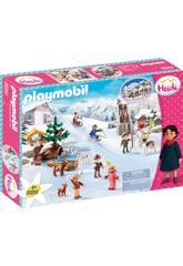 Playmobil Heidi El Mundo de Invierno 70261