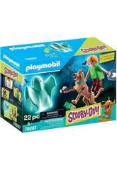 Playmobil Scooby-Doo Scooby et Shaggy avec Fantôme 70287