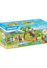 Playmobil Spirit Sfida sul Fiume 70330