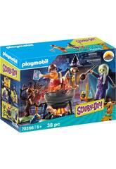 Playmobil Scooby-Doo Avventura nel Calderone della Strega 70366