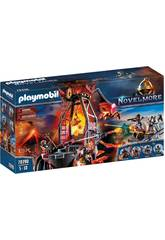 Playmobil Novelmore Miniera di Lava dei Banditi Burnham 70390