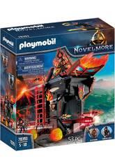 Playmobil Novelmore Ariete de Fuego de los Bandidos de Burnham 70393