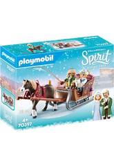 Playmobil Spirit Paseo en Trineo 70397